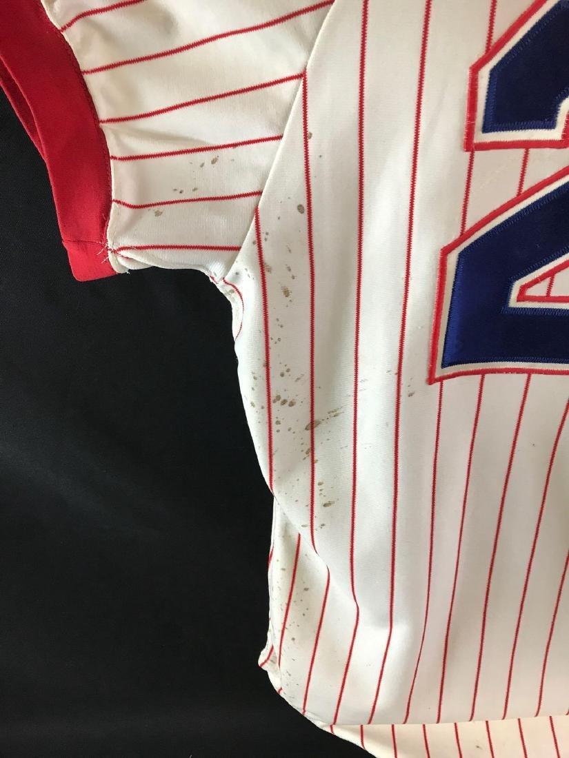 1978 Signed Atlanta Braves Warren Spahn jersey - 7