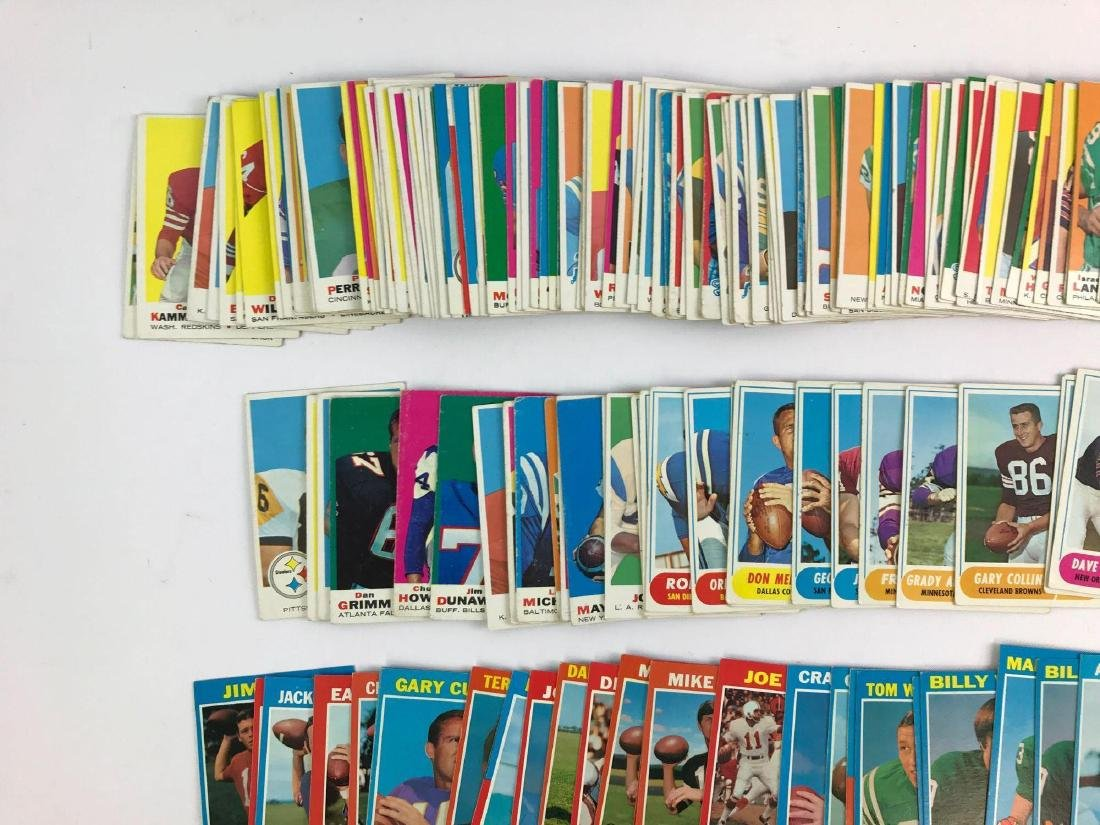 Approximately 200 1968, 69, 71 vintage Topps football - 6