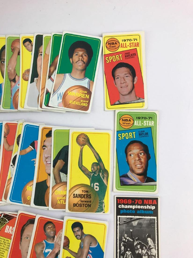 Approximately 100 1970 Topps baseball trading cards - 6