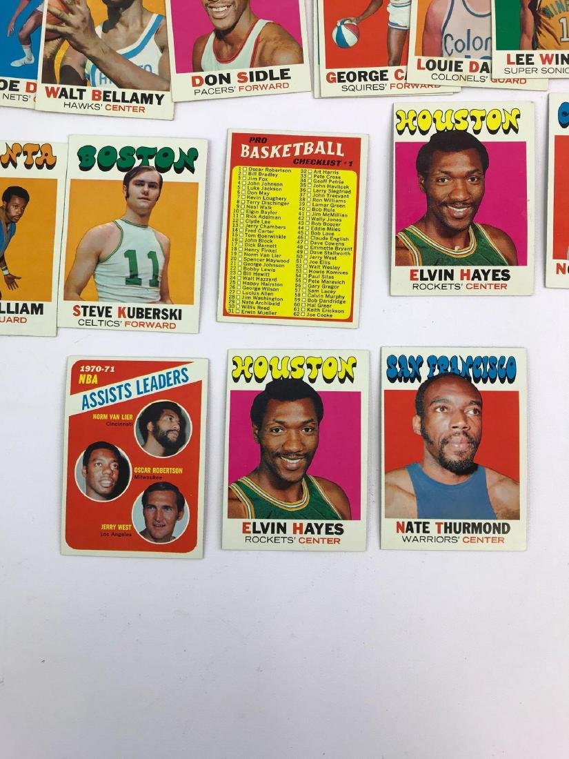 Approximately 35+ 1971 Topps baseball trading cards - 3
