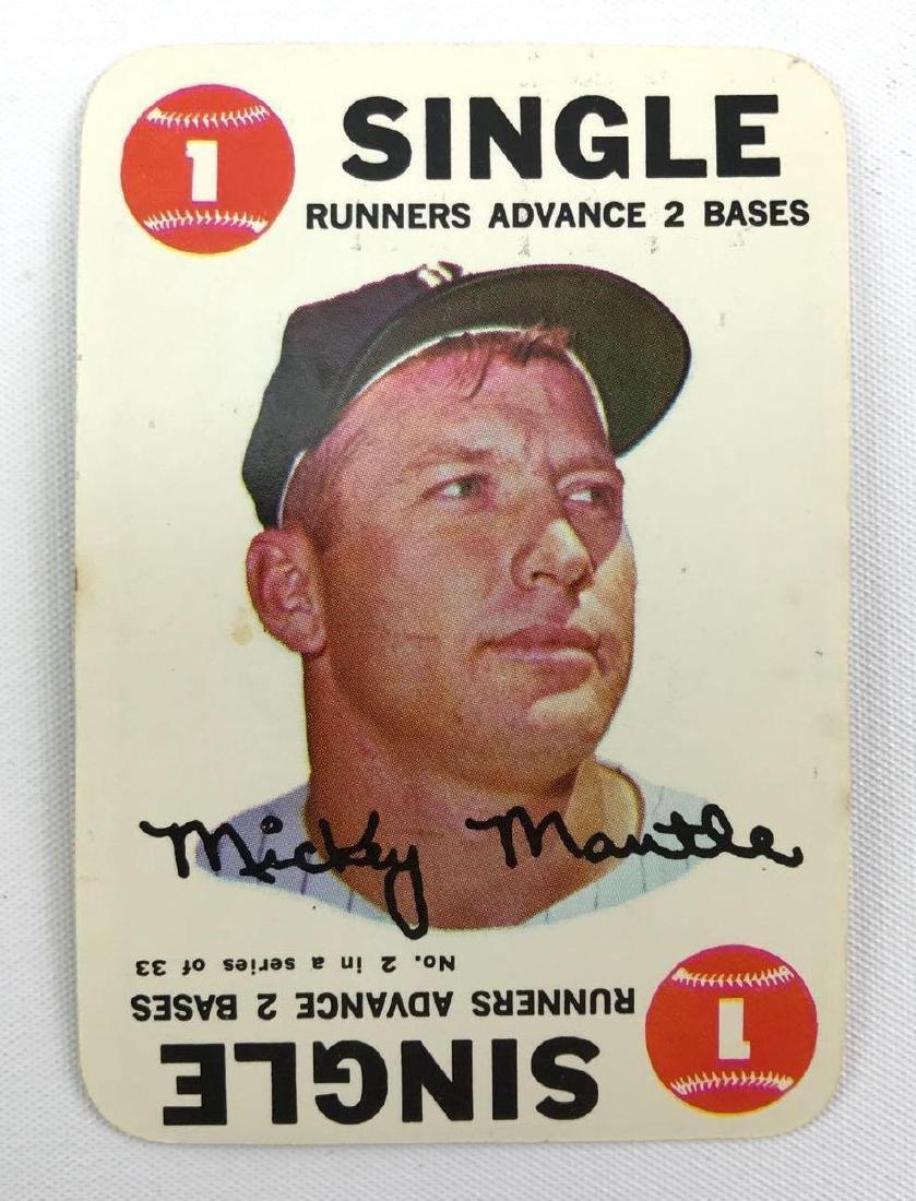1968 Mickey Mantle Topps game baseball trading card