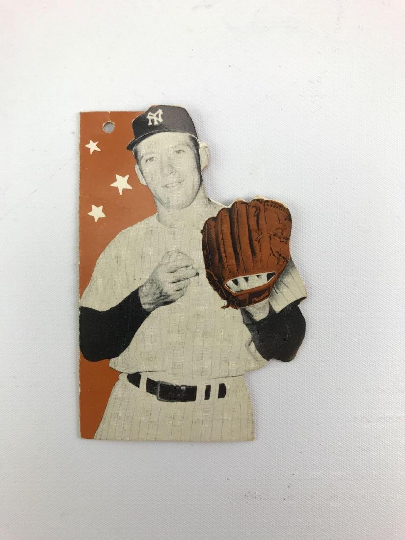 1961/62 Mickey Mantle Rawlings glove tag