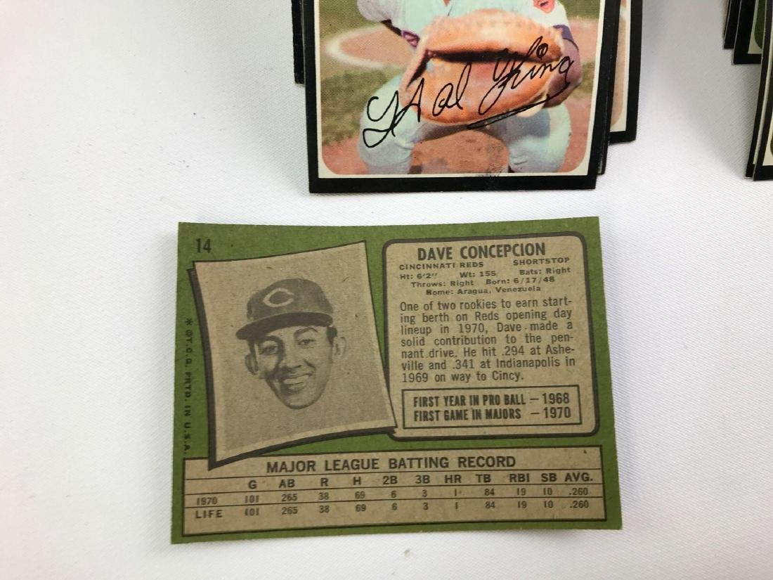 Approximately 600+ 1971 Topps baseball trading cards - 2