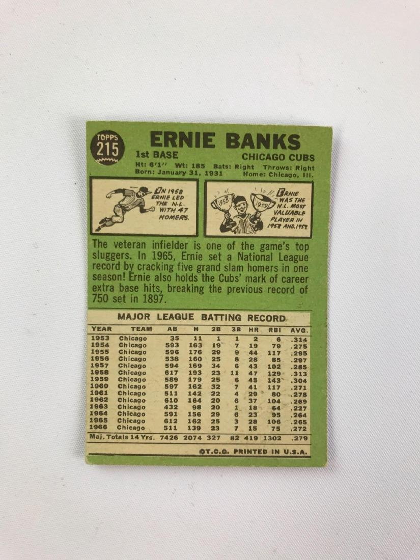 Group of four 1967 Chicago cubs Topps baseball cards - 2