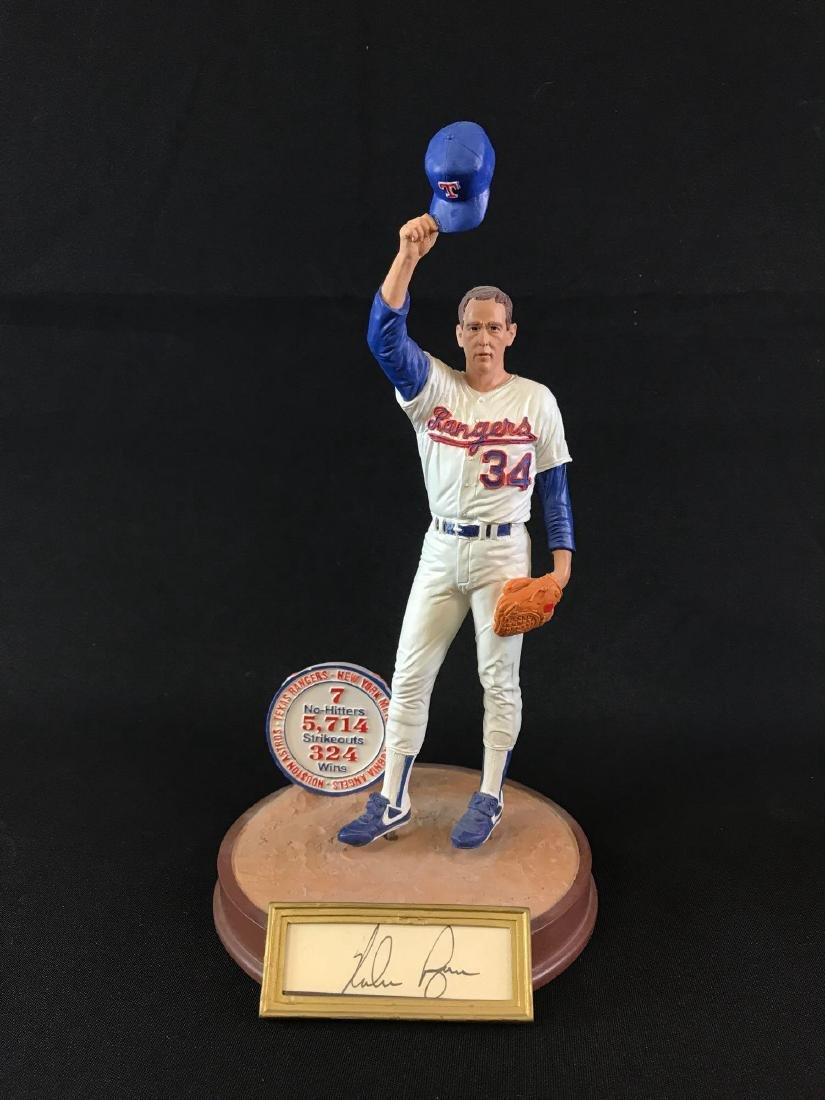 Signed Texas rangers limited edition sports impressions