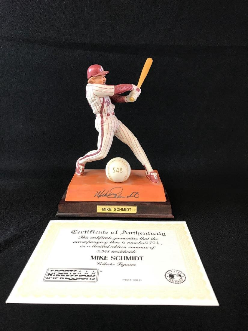 Limited edition sports impressions Mike Schmidt