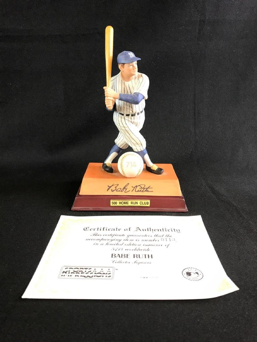 Limited edition sports impressions Babe Ruth figurine