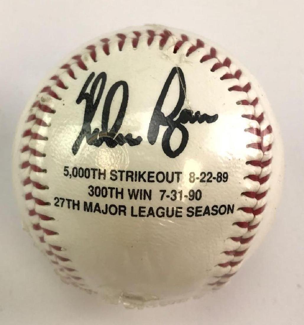 Signed Nolan Ryan baseball