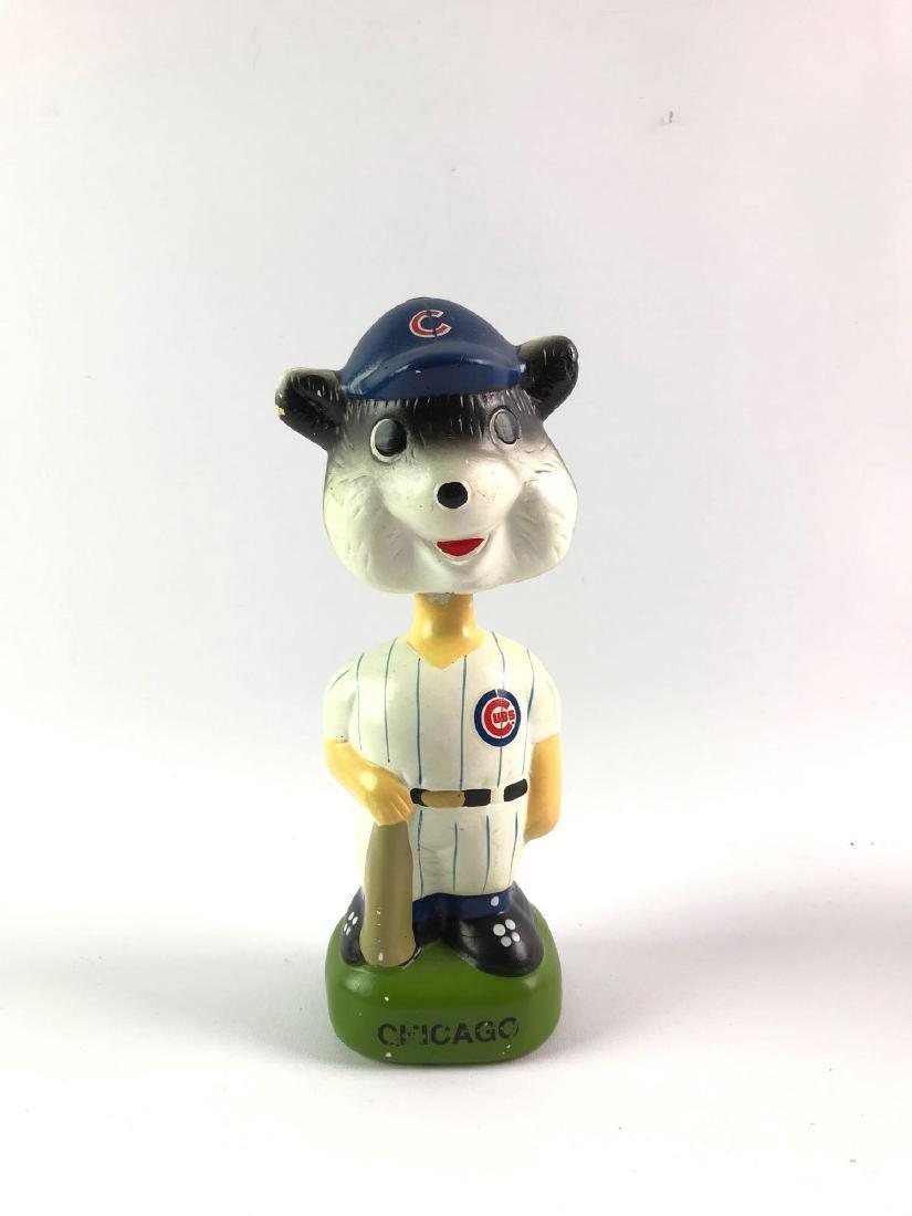 Chicago cubs mascot bobble head