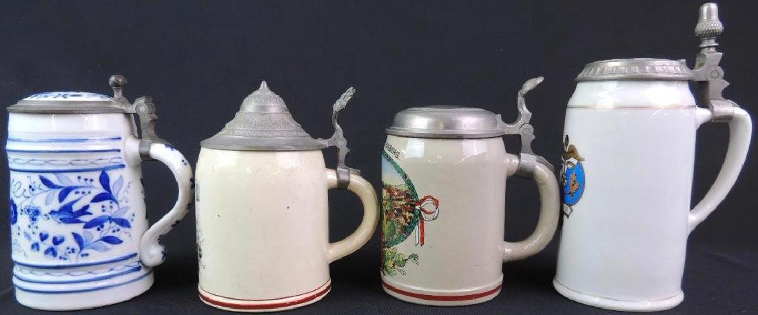 Lot of 4 Vintage German Steins - 3