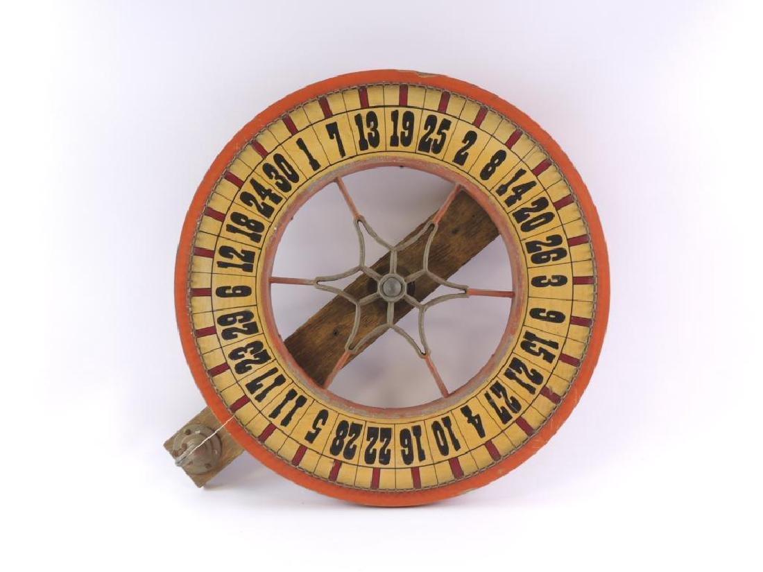 Antique Gambling Wheel