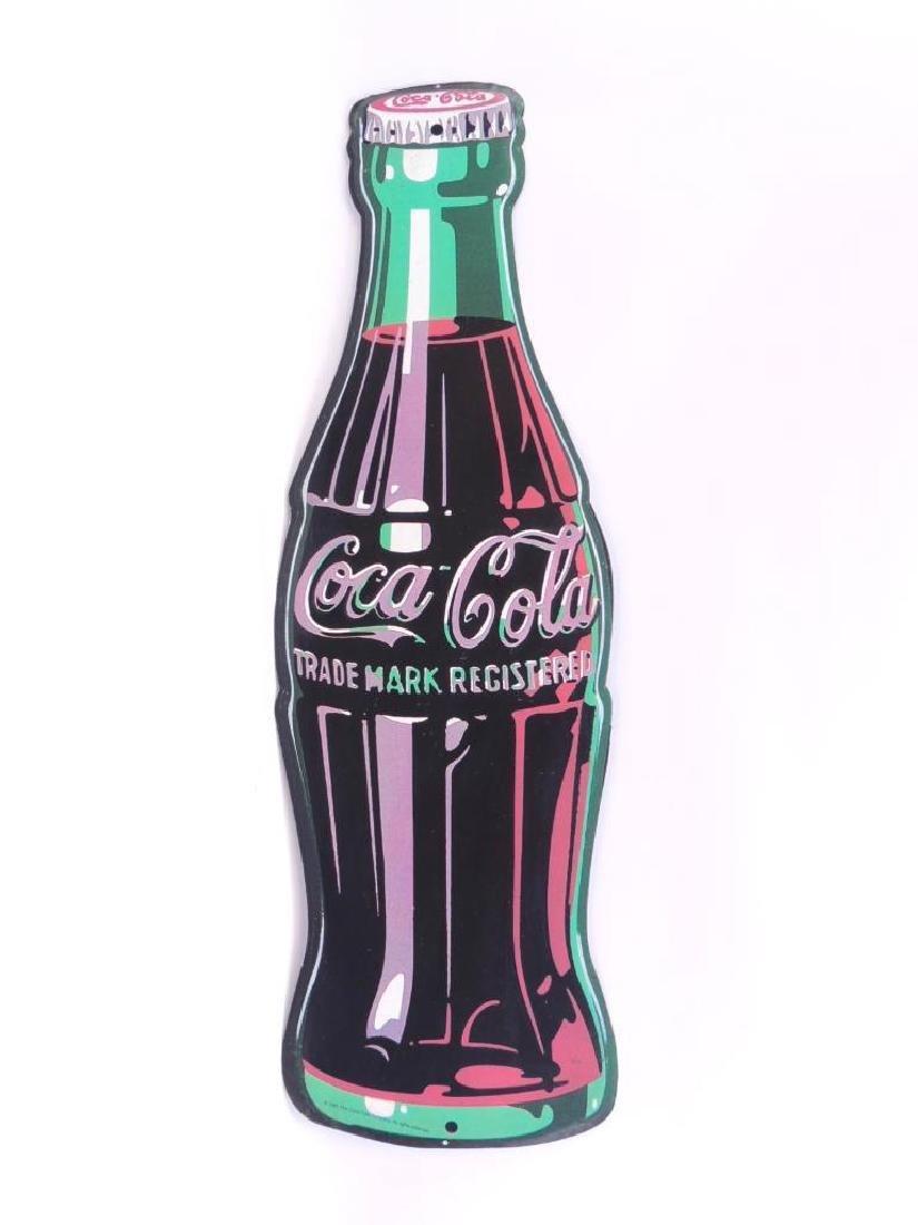 1995 Coca-Cola Advertising Metal Sign
