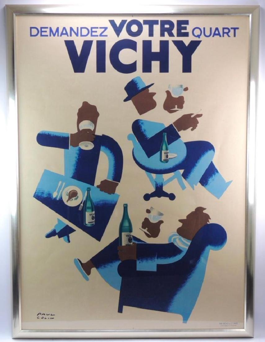 Demandez Votre Quart Vichy by Paul Colin Advertising