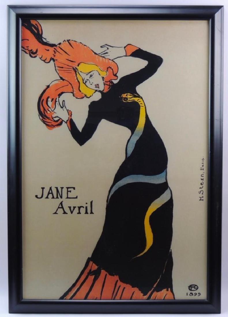 Jane Avril (1899) by Henri de Toulouse-Lautrec
