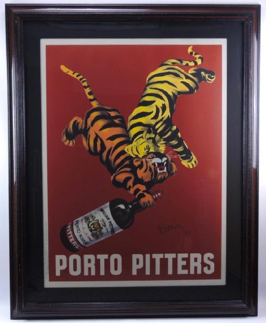 Porto Pitters (1928) by Leonetto Cappiello : Liquor