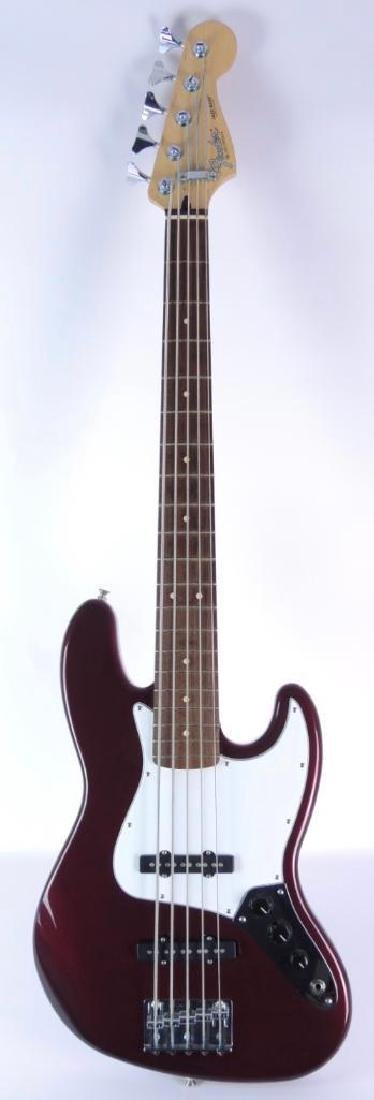 5-String Fender Jazz Bass with Hard Case