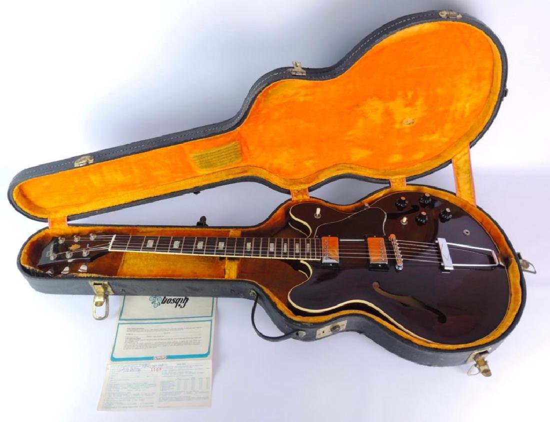 Vintage Gibson ES-335TD Hollow body Electric Guitar - 9
