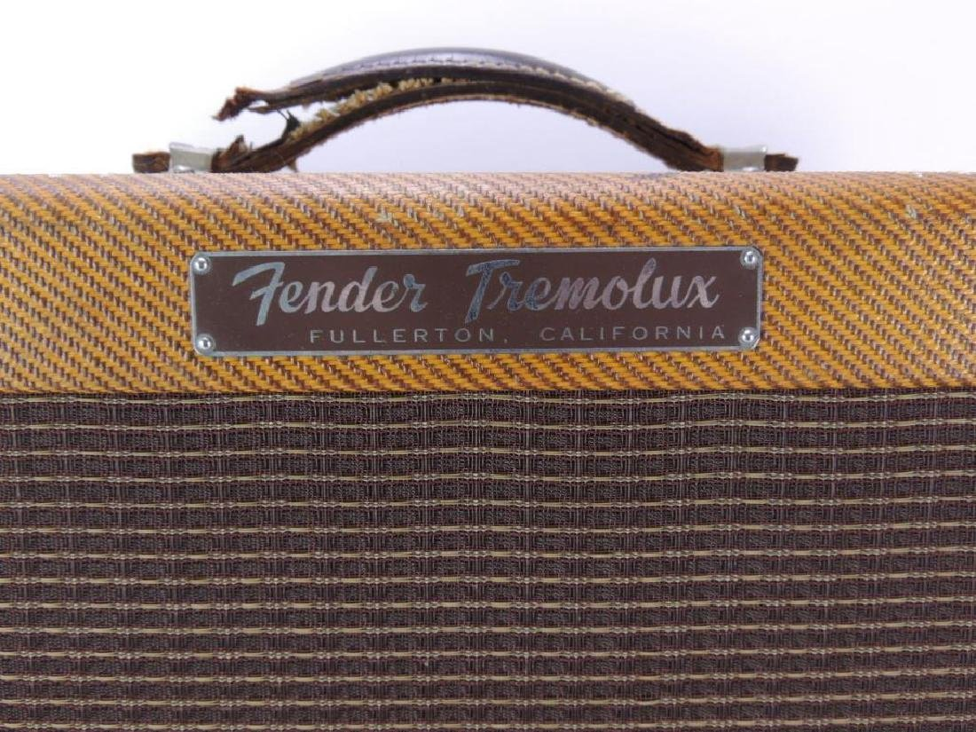 Vintage 1959 Fender Tremolux Model 5E9-A Amplifier - 2