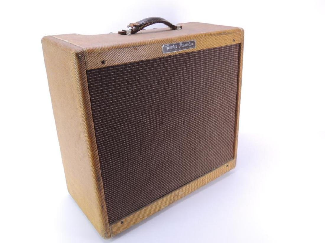 Vintage 1959 Fender Tremolux Model 5E9-A Amplifier - 4