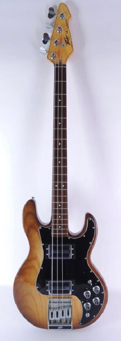 Peavey Model T-40 Electric Bass Guitar with Hard Case
