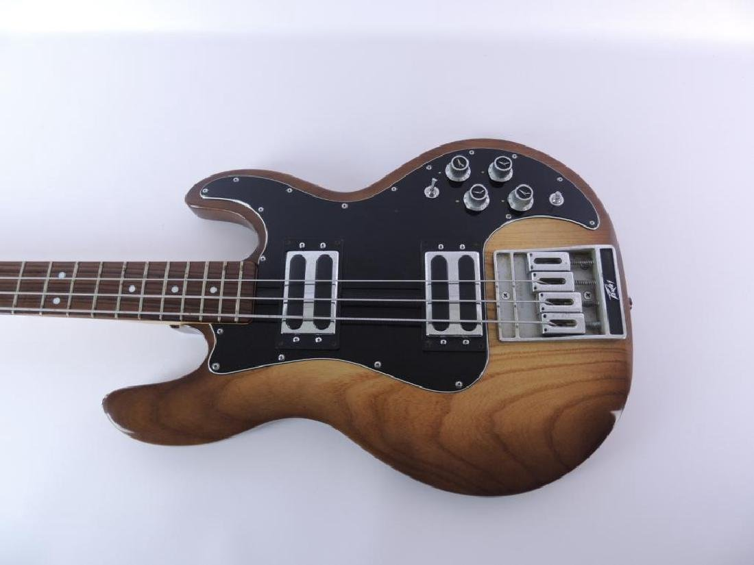 Peavey Model T-40 Electric Bass Guitar with Hard Case - 2