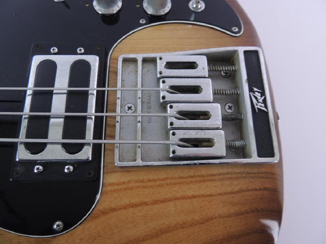 Peavey Model T-40 Electric Bass Guitar with Hard Case - 4