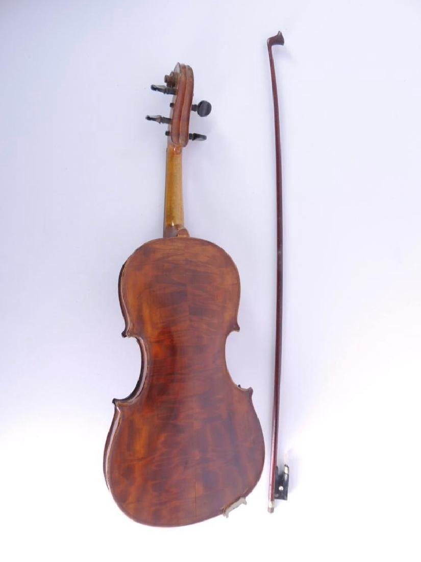 Antique Nippon Made Violin with Bow and Hard Case - 2
