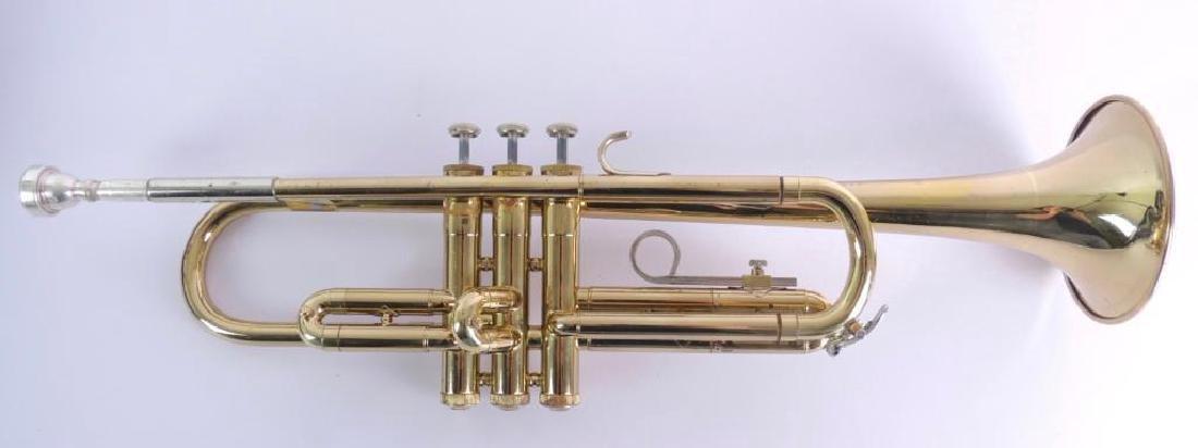 Bundy Selmer Trumpet with Hard Case - 2