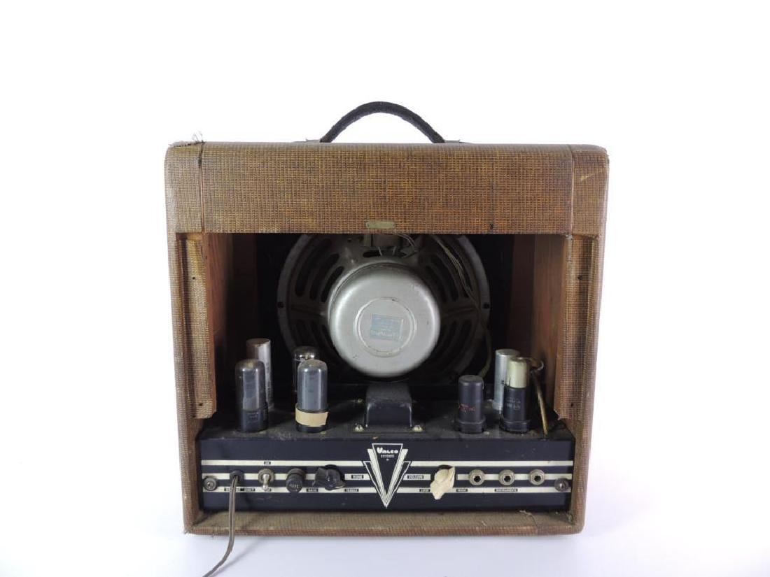 Vintage 1950's McKinney Guitars Valco Tube Amplifier - 4