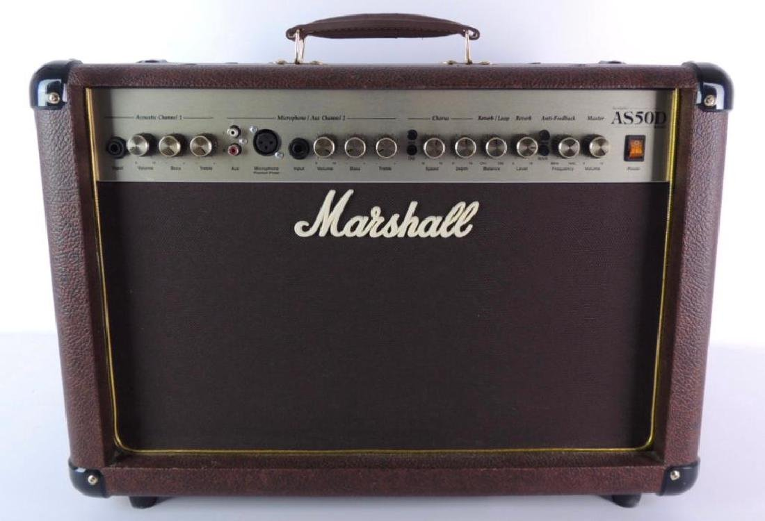 Marshall Acoustic Soloist AS50D Guitar Amplifier