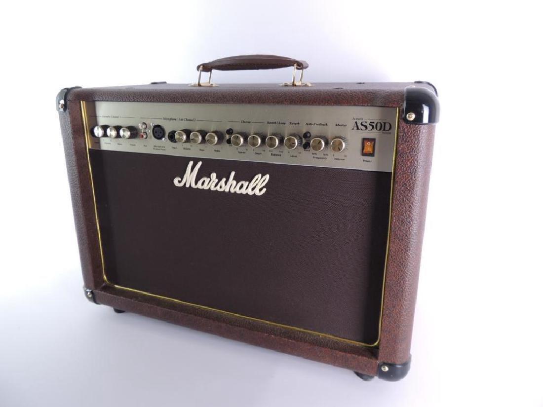 Marshall Acoustic Soloist AS50D Guitar Amplifier - 2