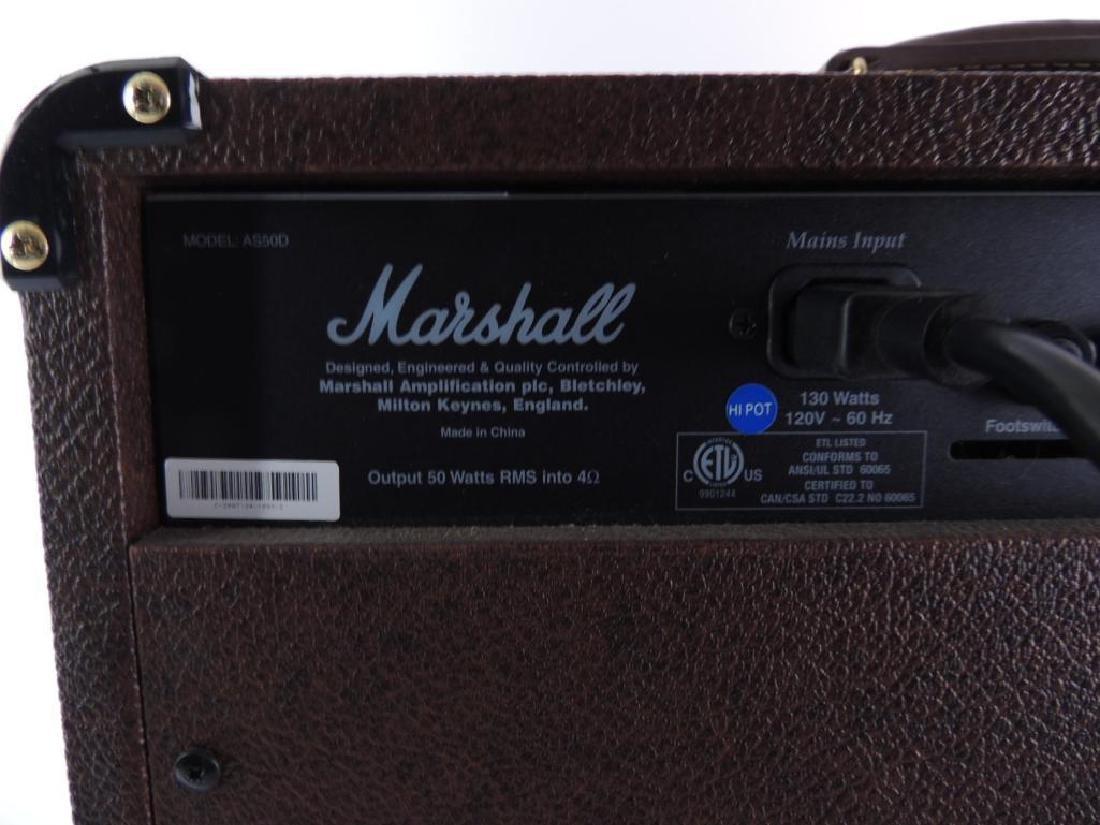 Marshall Acoustic Soloist AS50D Guitar Amplifier - 4