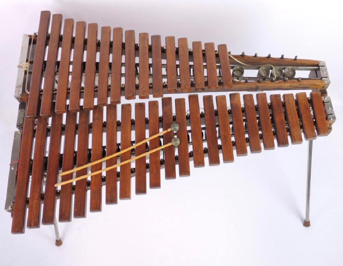 J.C. Deagan Vintage Xylophone with Extra Mallets - 2