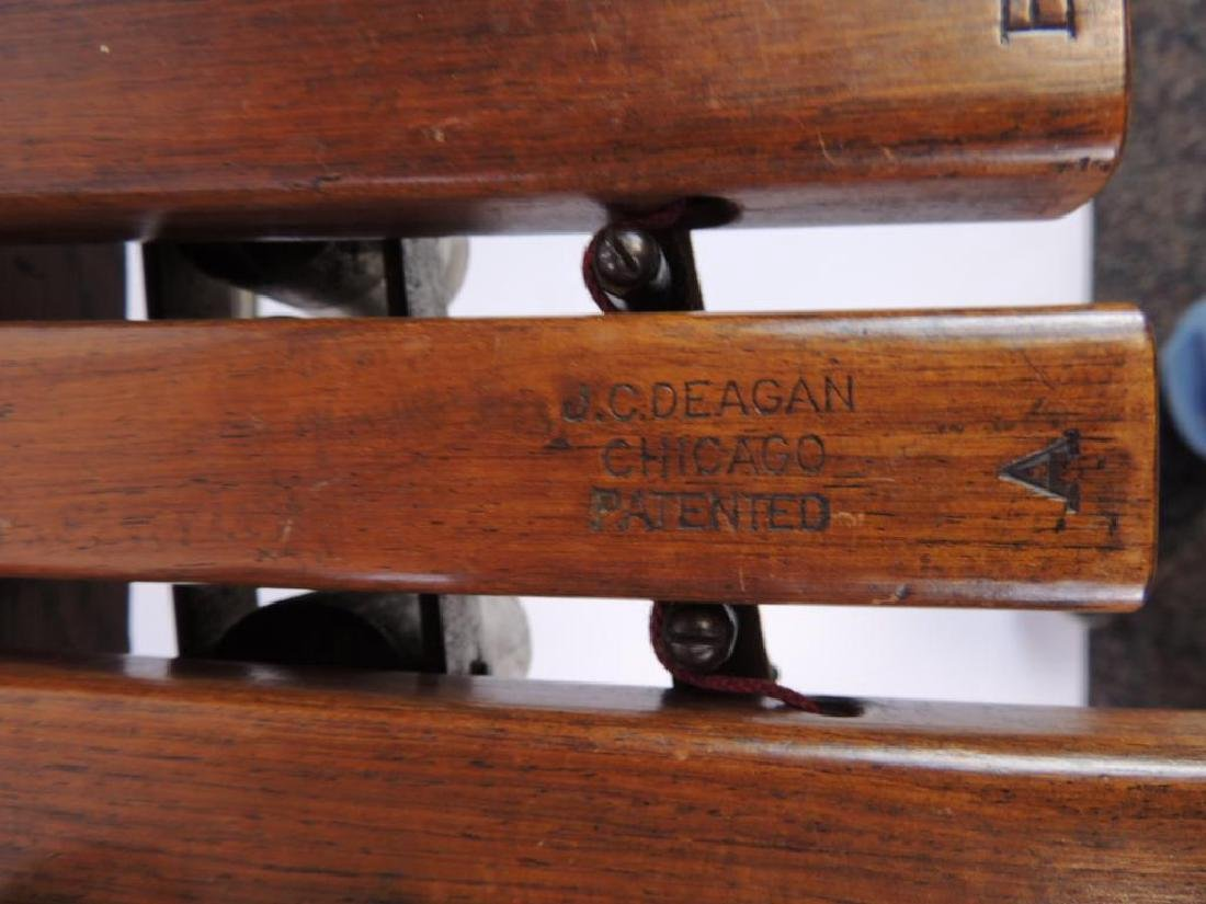 J.C. Deagan Vintage Xylophone with Extra Mallets - 3