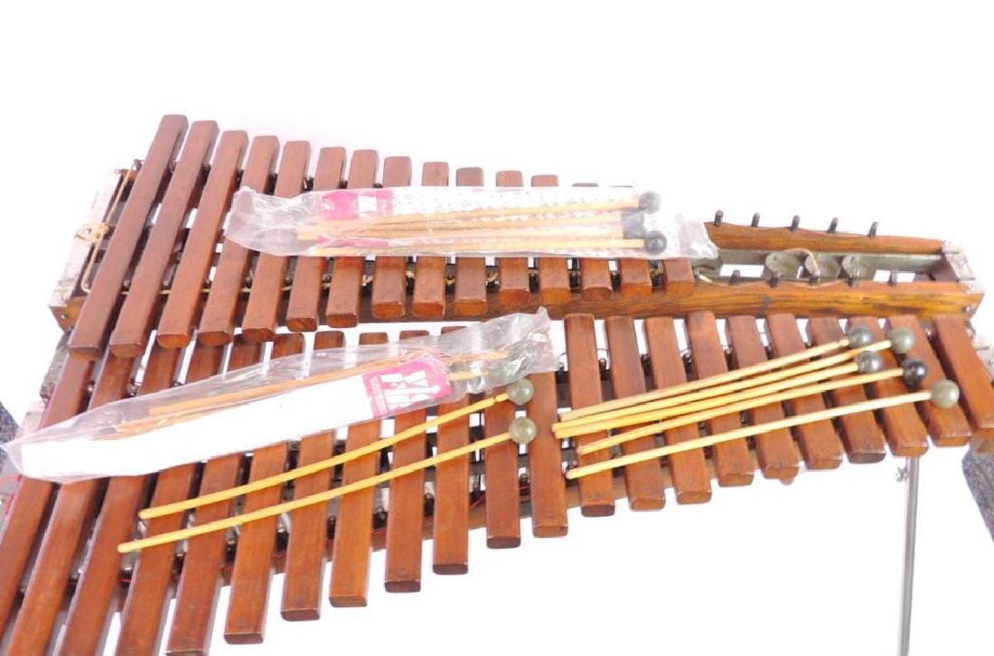 J.C. Deagan Vintage Xylophone with Extra Mallets - 5