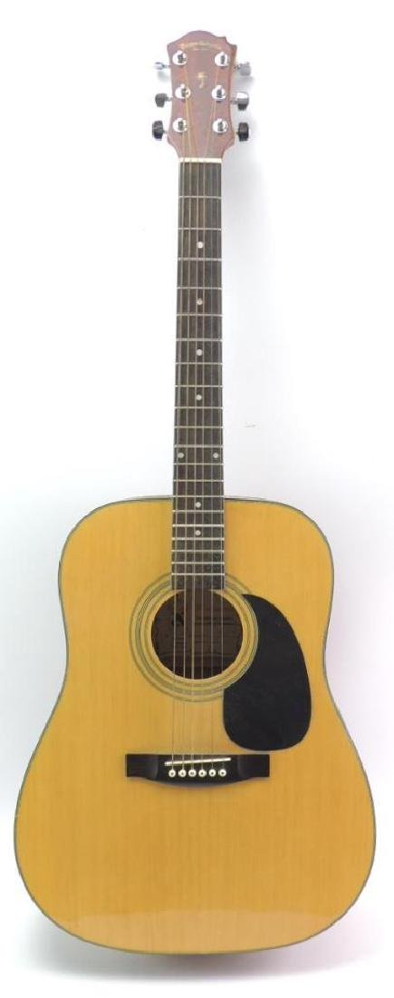 Palmer Guitar Co. Model 696 Natural Acoustic Guitar
