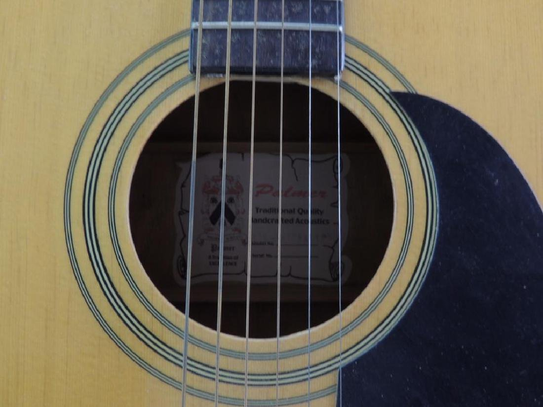 Palmer Guitar Co. Model 696 Natural Acoustic Guitar - 2