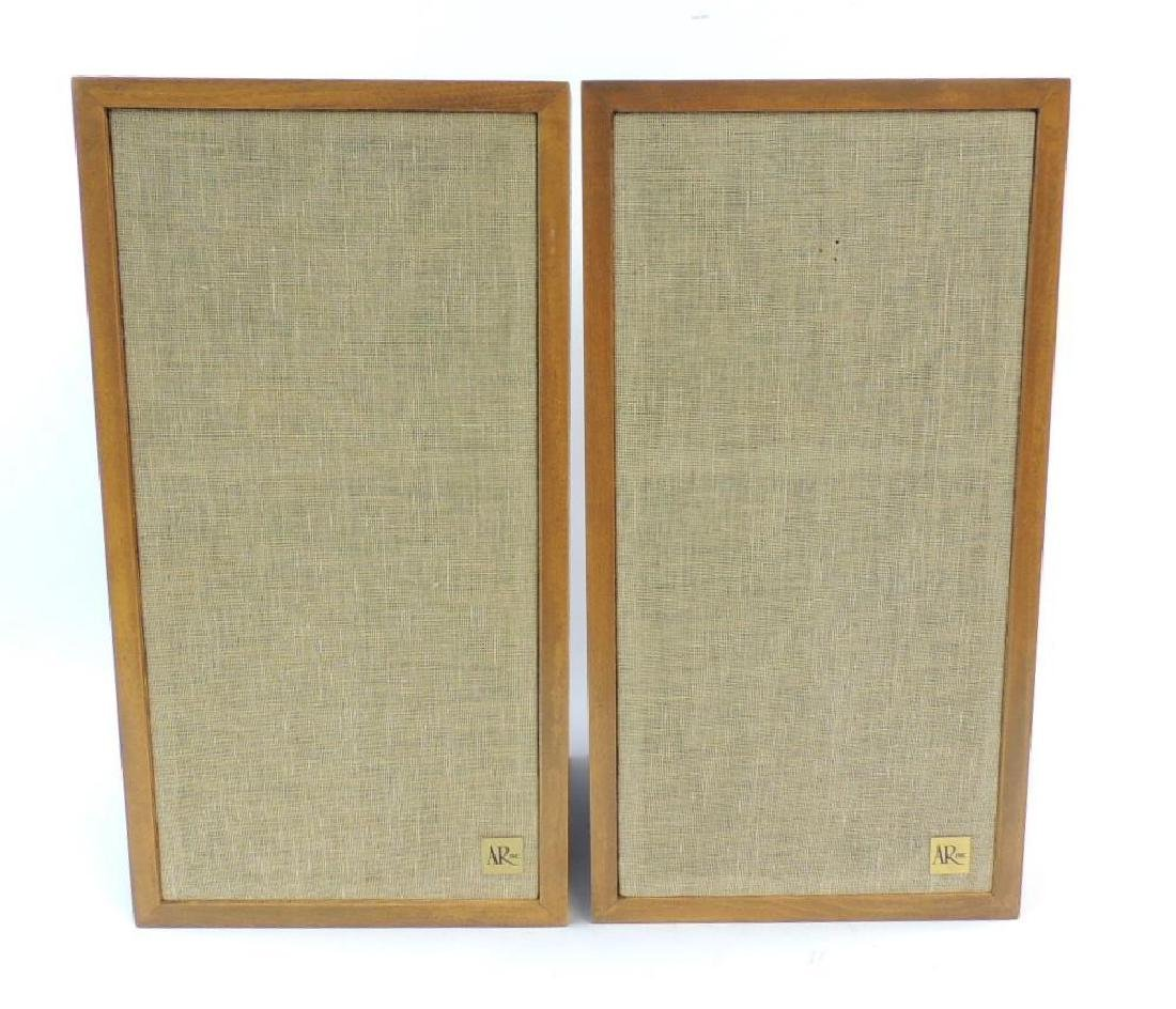 Pair of Acoustic Research AR-4X Speakers