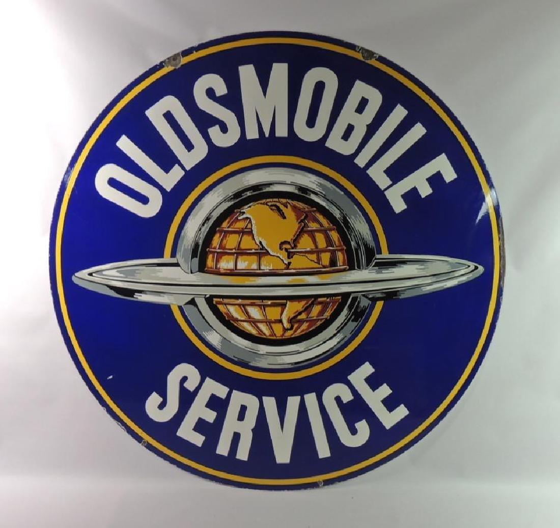 Beautiful Vintage Oldsmobile Service Advertising