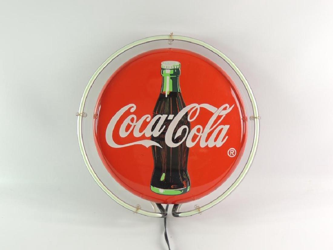Coca Cola Advertising Neon Sign - 2