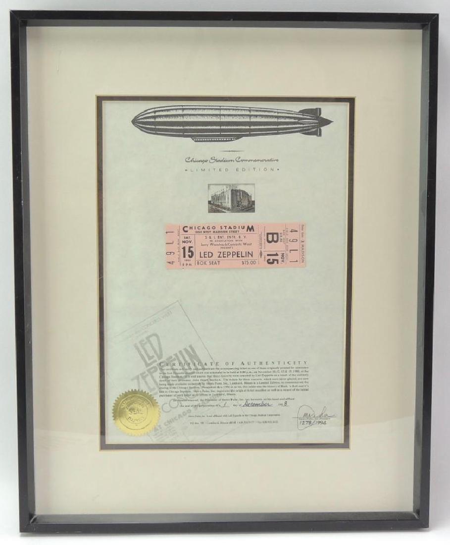 Led Zeppelin Limited Edition Chicago Stadium