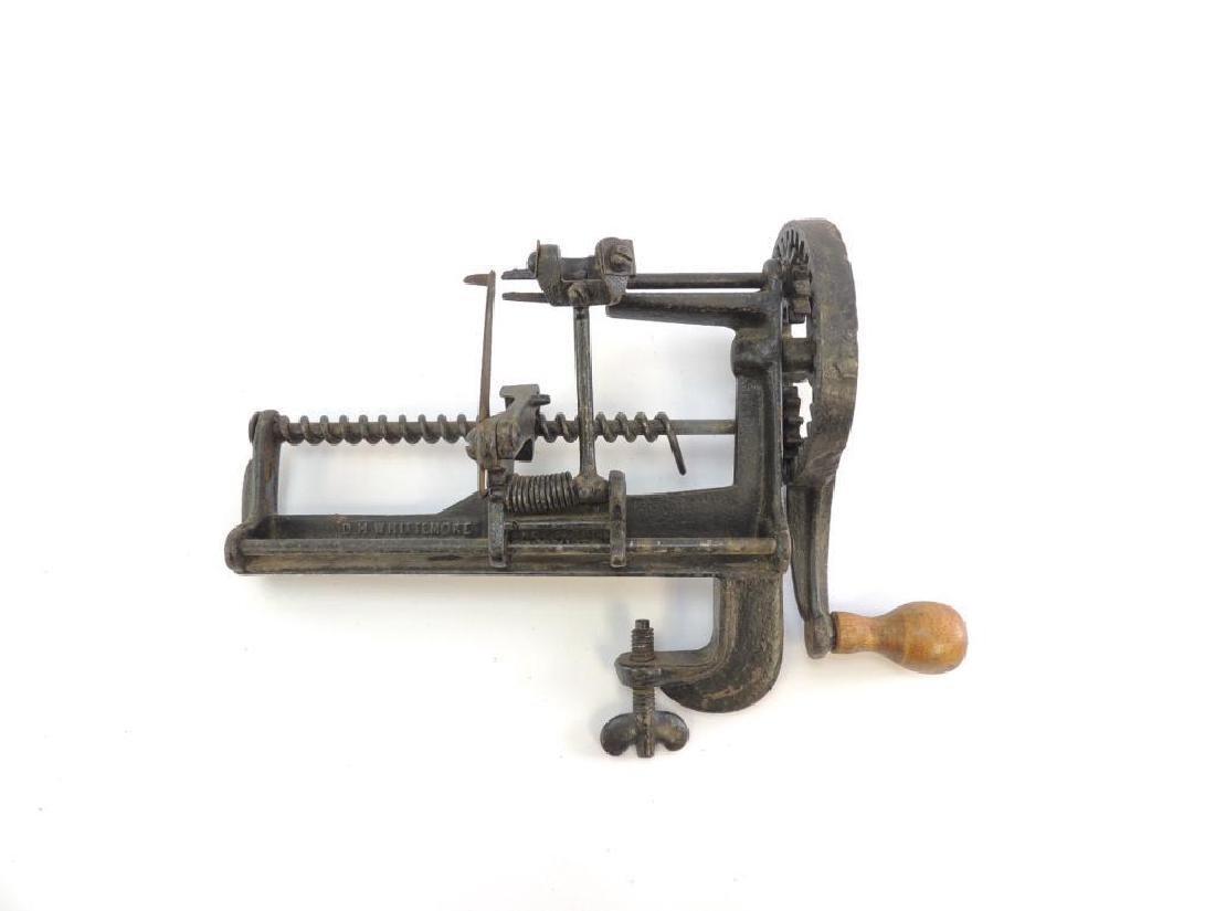 Antique D.H. Whittemore Lathe Apple Parer