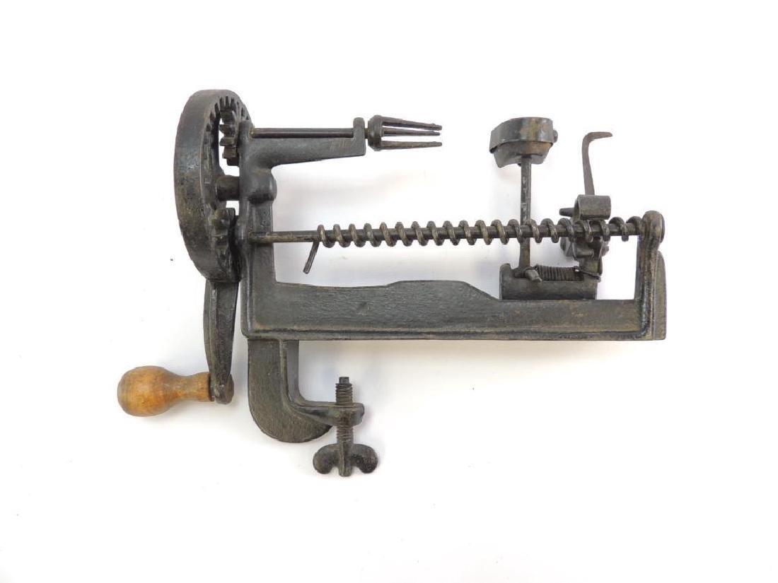 Antique D.H. Whittemore Lathe Apple Parer - 3