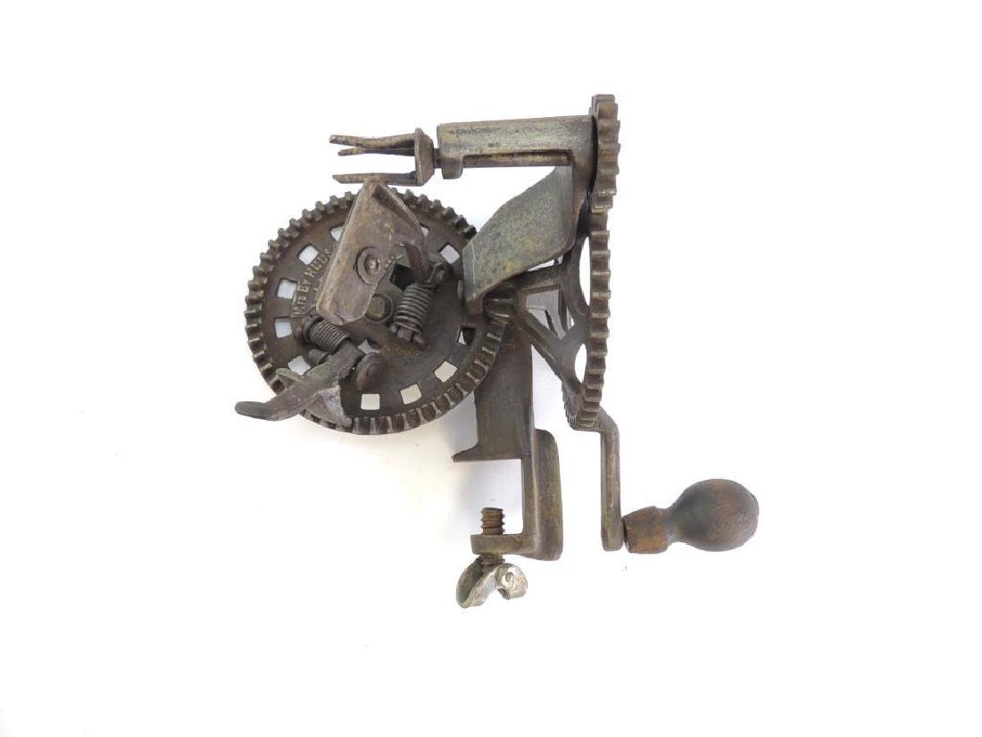 Antique Hudson Parer Co. Turntable Apple Parer