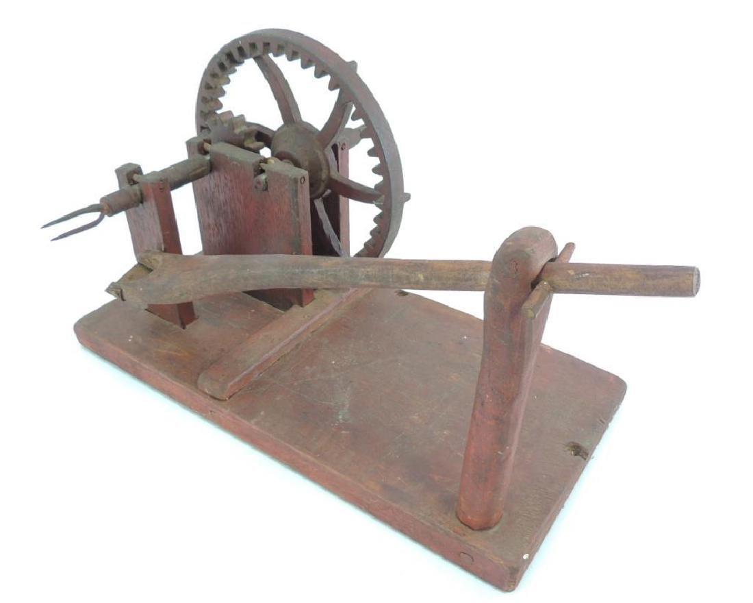 Antique Primitive Wooden Apple Parer