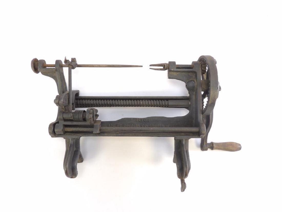 Antique Goodell Ictor Lathe Apple Parer
