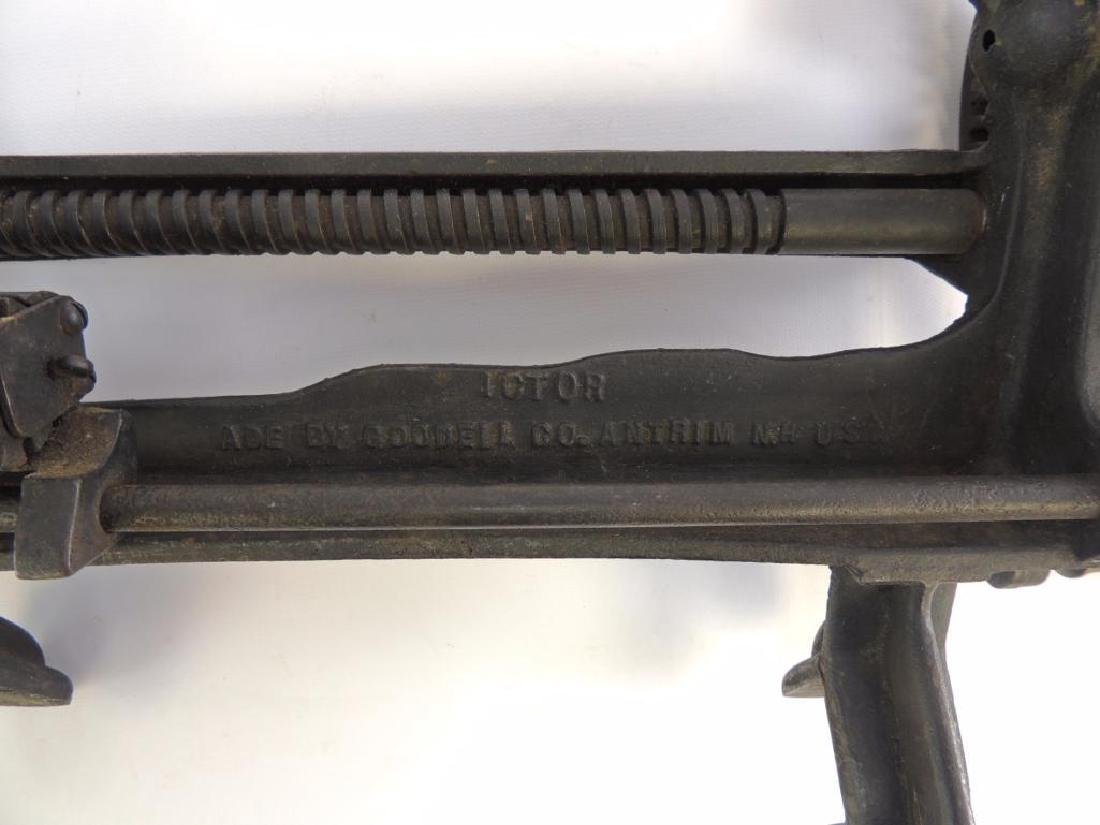Antique Goodell Ictor Lathe Apple Parer - 2