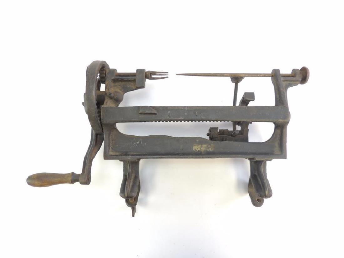 Antique Goodell Ictor Lathe Apple Parer - 3