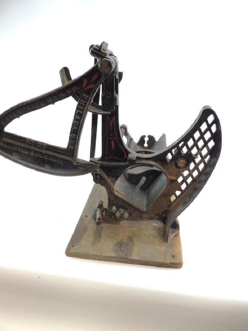 Antique Enterprise MFG. Co. No. 23 Food Slicer - 3