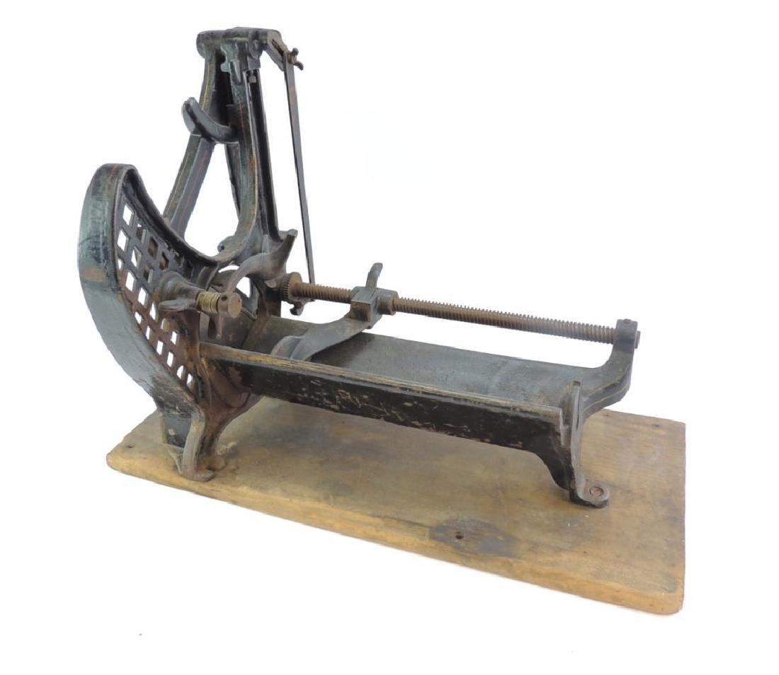 Antique Enterprise MFG. Co. No. 23 Food Slicer - 4